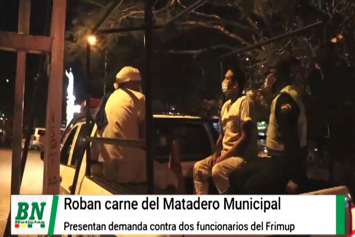 Lee más sobre el artículo Carne del Frimup fue robada y municipio demanda a dos funcionarios encontrados con producto