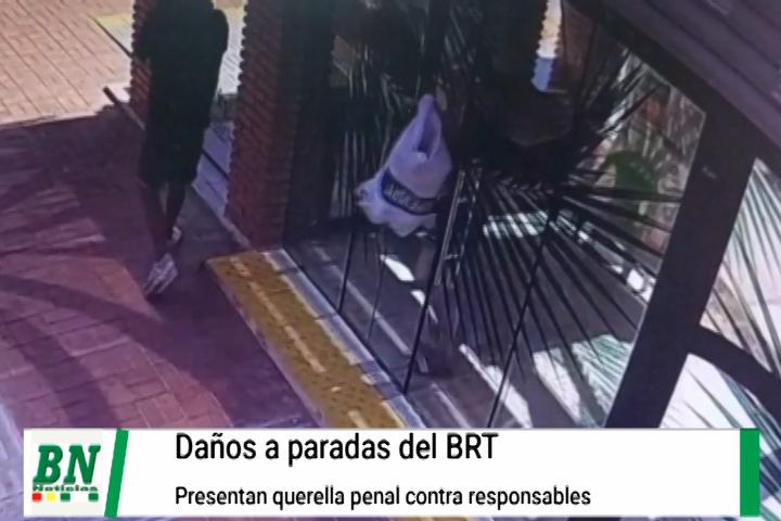 Lee más sobre el artículo Dañan paradas del BRT y alcaldía presenta demanda contra posibles responsables