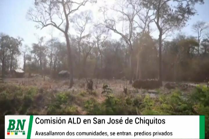 Lee más sobre el artículo Comisión detecta avasallamiento en asentamientos legales y propiedades privadas de San José