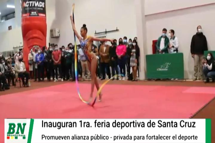 Lee más sobre el artículo Inauguran I Feria Deportiva y Gobernador compromete alianza público-privada
