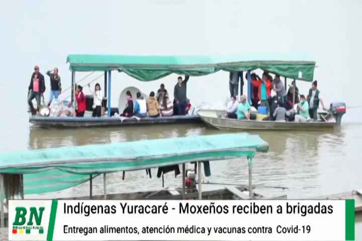 Lee más sobre el artículo Pueblo indígena Yuracaré-Maxeño recibe vacunación en su lugar y les entregan alimentos