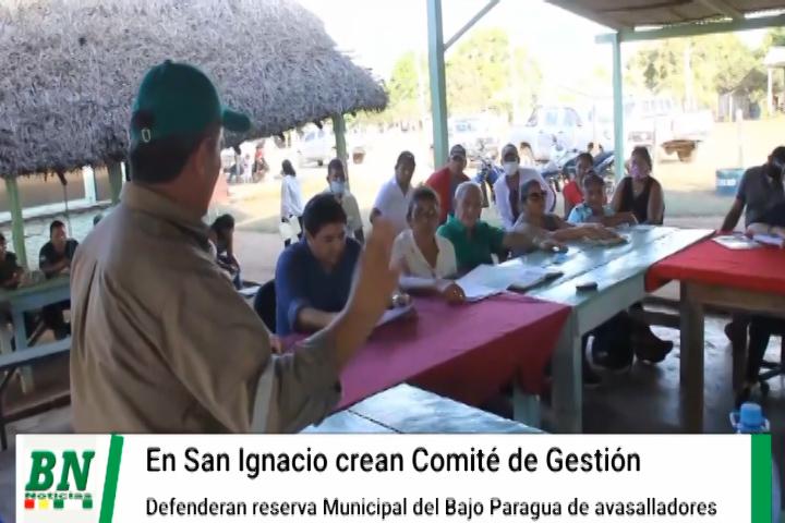 Lee más sobre el artículo Crean comité de gestión y defensa de la reserva municipal del bajo Paraguá y exigen desalojo de avasalladores