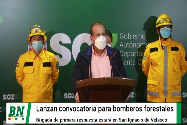 Lee más sobre el artículo Lanzan convocatoria para bomberos forestales de la Gobernación