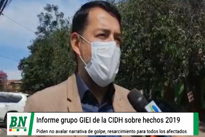 Lee más sobre el artículo Moron pide que informe de CIDH sobre resarcimiento a personas afectadas en conflicto del 2019,  no sea usada para avalar golpe