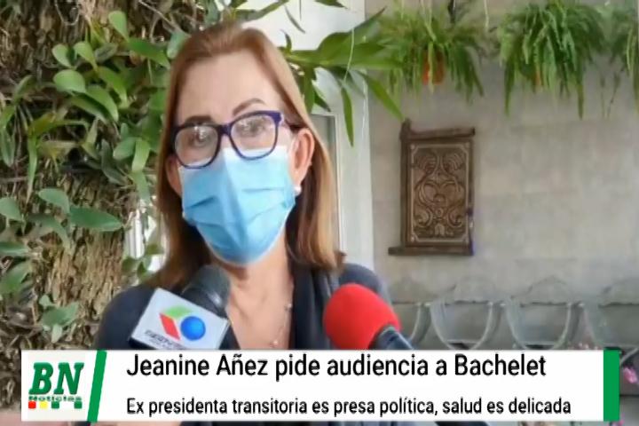 Lee más sobre el artículo Jeanine Añez pide audiencia a DDHH de la ONU a cargo de Bachelet y Senadora Rek asegura que es presa política