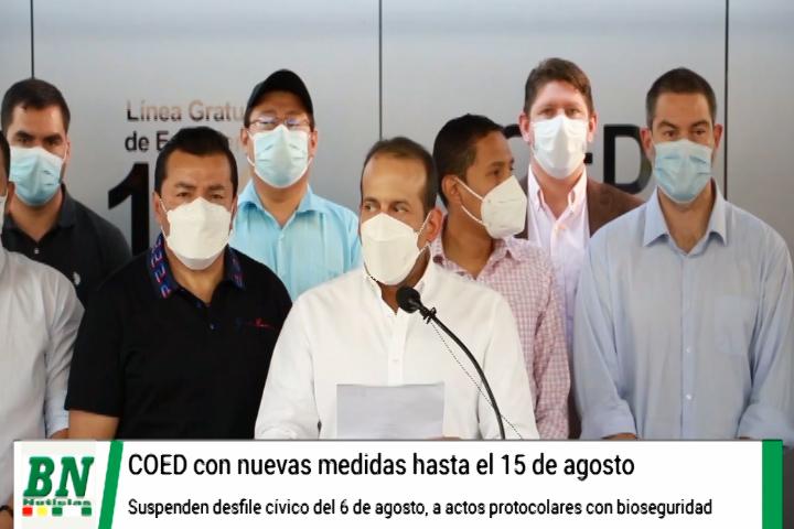 Lee más sobre el artículo Nuevas medidas por pandemia se aplican desde este sábado, en San Ignacio autorizan festejos y exigen cumplir bioseguridad