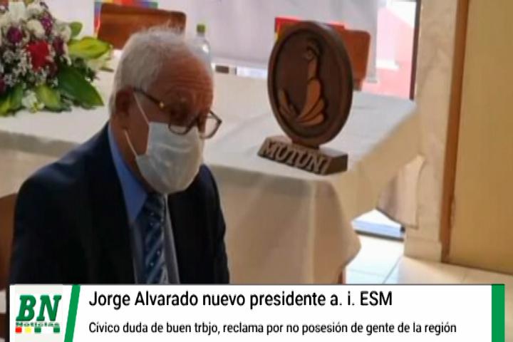 Lee más sobre el artículo Calvo cuestiona que no se designe a gente de la región tras presentación de Nuevo Presidente de la E.S.M