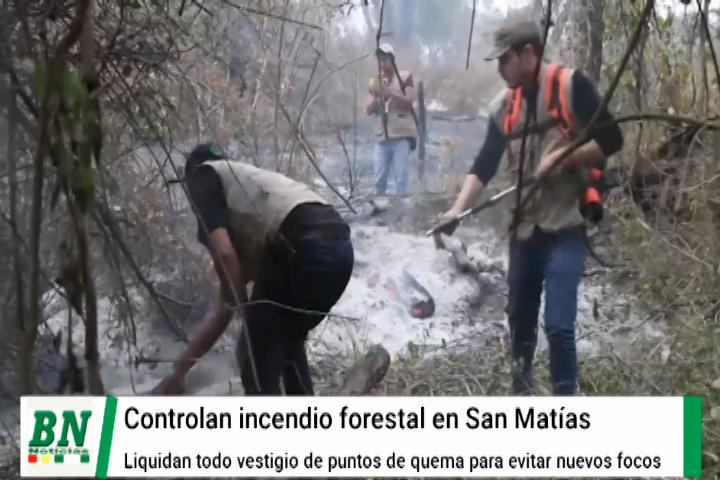 Lee más sobre el artículo Reaparecen incendios forestales en San Matias mientras controlan otros focos de calor