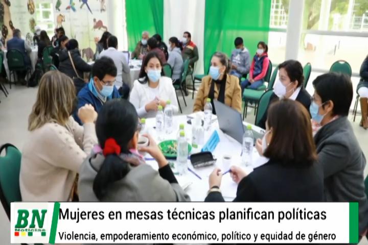Lee más sobre el artículo Mujeres elaboran políticas públicas contra la violencia, empoderamiento económico, político y equidad de género