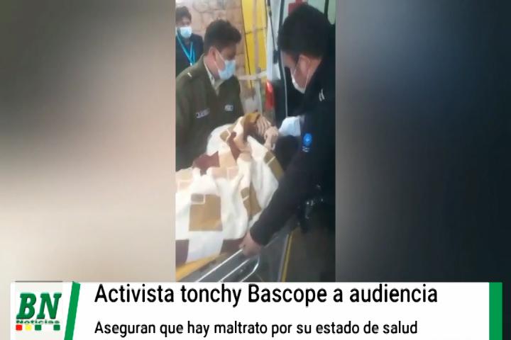Lee más sobre el artículo Trasladan a tonchy a una audiencia en camilla, Creemos denuncian a Ministro por secuestro, abuso y torturas