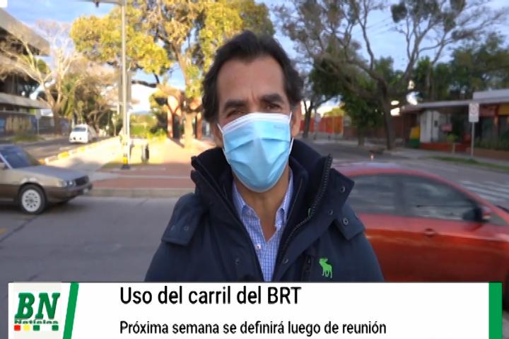 Lee más sobre el artículo Carril del BRT se define la próxima semana sobre su uso si será para el transporte público