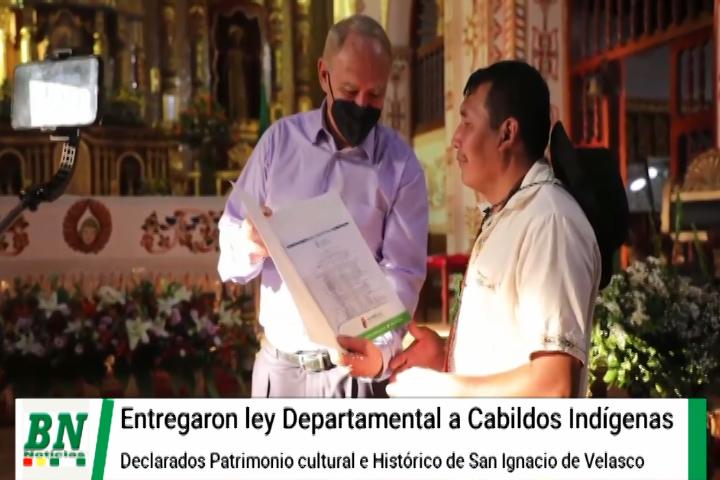 Lee más sobre el artículo Entregan ley Departamental que declara Patrimonio Cultural e Histórico a los Cabildos indígenas