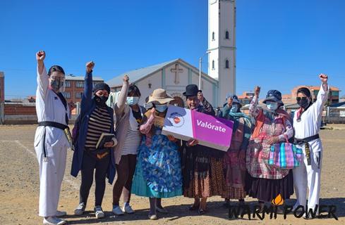 Lee más sobre el artículo INTI y Warmi Power le dicen ¡No! a la violencia contra la mujer