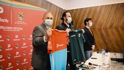 Lee más sobre el artículo La Verde tiene delivery Oficial: PedidosYa es auspiciador de la Selección Boliviana de Fútbol