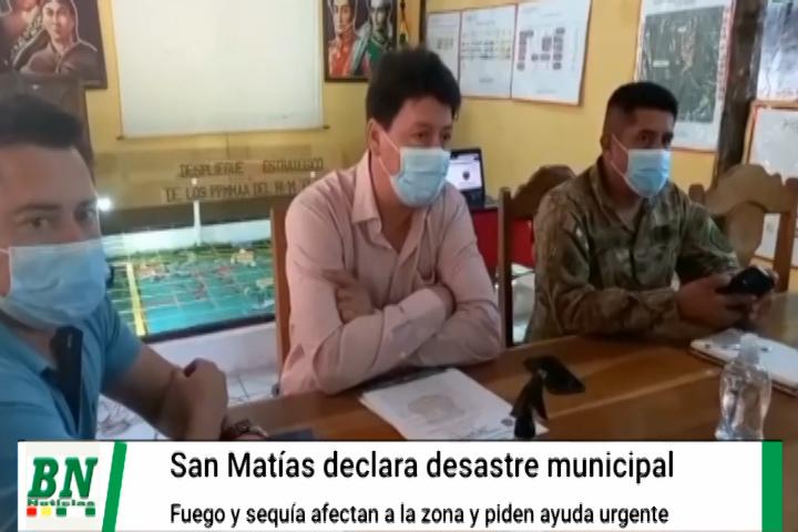 Lee más sobre el artículo San Matías declara desastre municipal por los incendios forestales y la sequía que afecta a la zona
