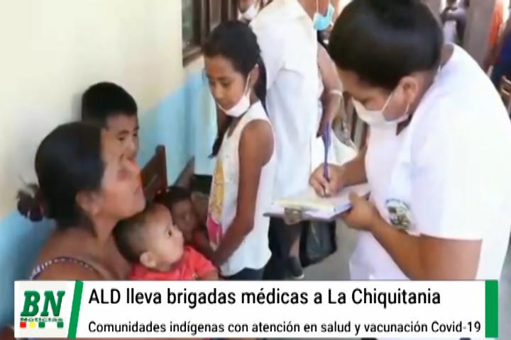 Lee más sobre el artículo Llevan brigadas médicas a comunidades indígenas de La Chiquitania y les dan atención en salud y vacunas covid-19