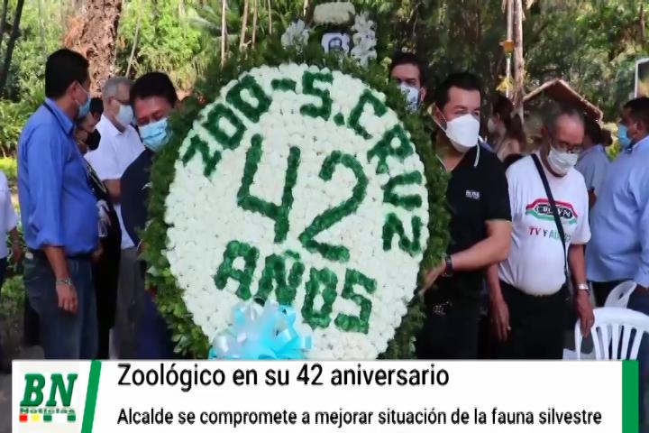 Lee más sobre el artículo Zoológico cumple 42 años y Alcalde se compromete a mejorar situación de la fauna silvestre