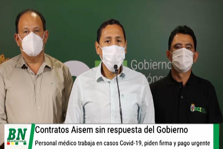 Lee más sobre el artículo Gobernación exige al Gobierno cumplir con médicos y cancelar salarios adeudados y firmar contratos que se vencen, perjudicarán campaña