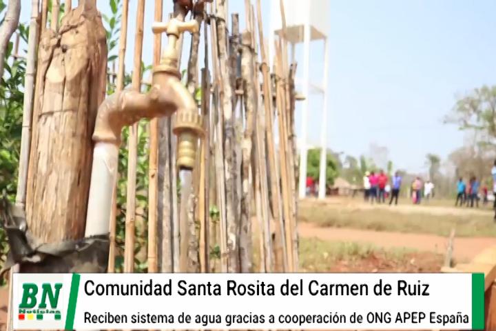 Lee más sobre el artículo Dos comunidades reciben sistemas de agua en San Ignacio con recursos de cooperación