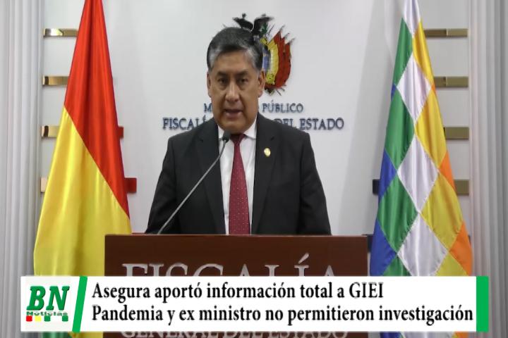 Lee más sobre el artículo Lanchipa asegura que aportó con todas las pruebas a GIEI y culpa a ex ministro y a la pandemia por investigación