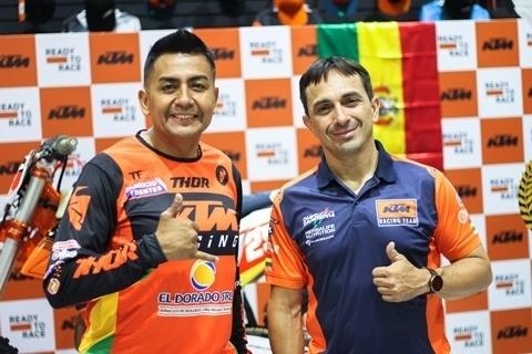 Lee más sobre el artículo Chavo Salvatierra y Fabricio Fuentes parten a México para disputar la Baja 400