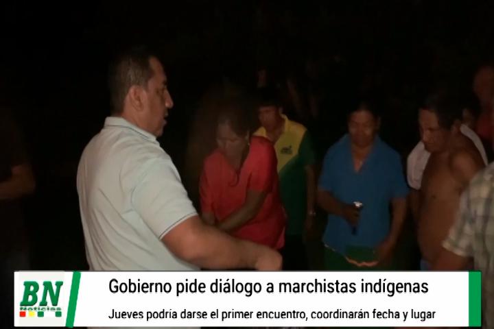 Lee más sobre el artículo Gobierno logra primer encuentro con marcha indígena y busca diálogo en los próximos días, Mojica entrego víveres