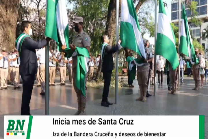 Lee más sobre el artículo Inician festejos por gesta libertaria de Santa Cruz en sus 211 años de grito de independencia