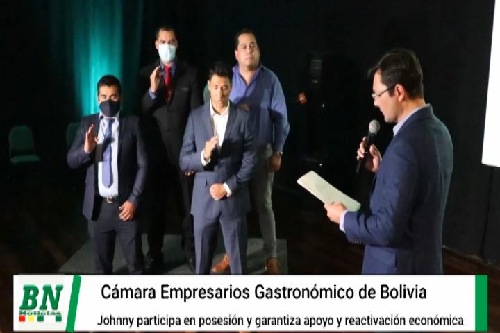 Lee más sobre el artículo Posesionan a nuevo directorio de la Cámara de Empresarios Gastronómicos de Bolivia y aseguran apoyo