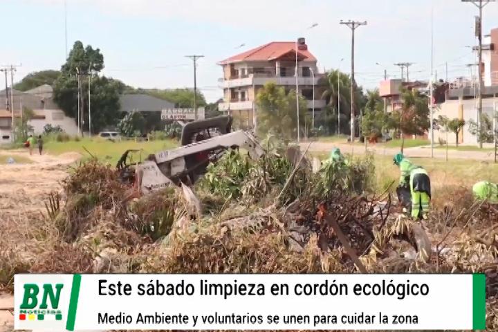 Lee más sobre el artículo Este sábado realizarán limpieza en el Cordón Ecológico entre Medio Ambiente de la alcaldía y voluntarios