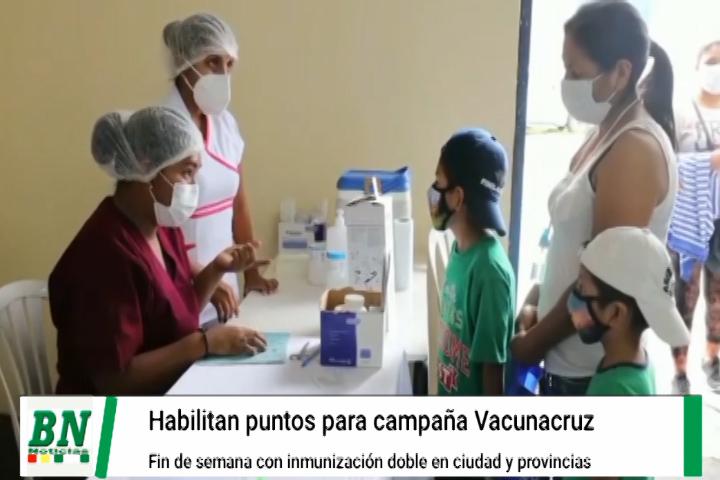 Lee más sobre el artículo Puestos de inmunización contra el Covid-19 durante el fin de semana se habilitaron también para Vacunacruz