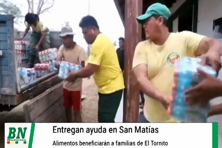 Lee más sobre el artículo Familias afectadas por sequia en Los Valles y los incendios forestales en La Chiquitania recibirán alimentos