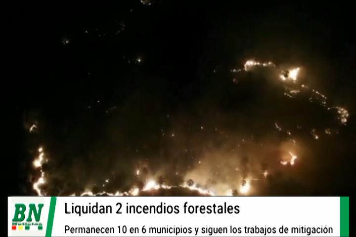 Lee más sobre el artículo Logran controlar 2  incendios pero se mantienen 10 en 7 municipios