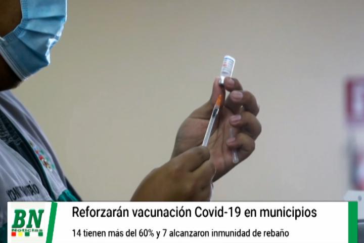 Lee más sobre el artículo Provincias logran superar inmunidad de covid-19 y reforzarán vacunación con brigadas