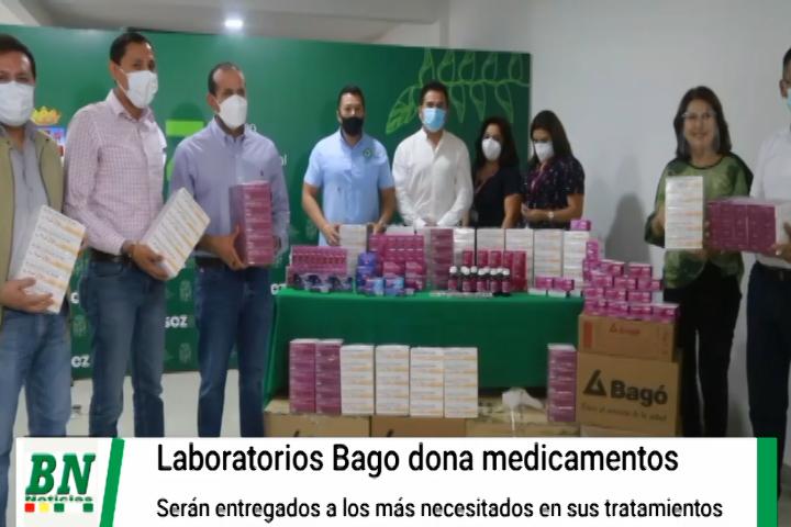 Lee más sobre el artículo Laboratorios Bagó dona medicamentos y la Gobernación los entregará a quienes más lo necesiten