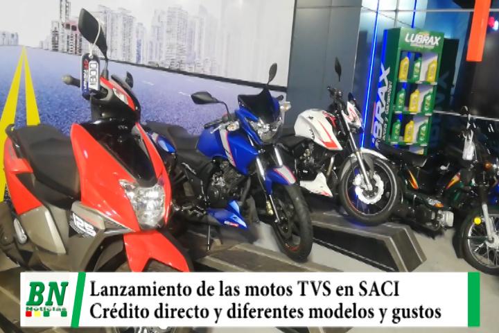 Lee más sobre el artículo SACI lanza las motos TVS y ofrece crédito directo y variedad en modelos y gustos