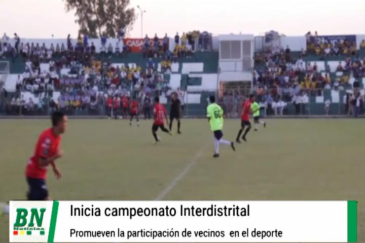 Lee más sobre el artículo Inician campeonato deportivo interdistrital y promueven la práctica deportiva en los barrios