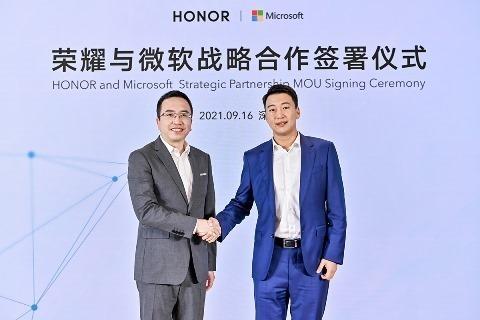 Lee más sobre el artículo HONOR anuncia alianza  estratégica con Microsoft