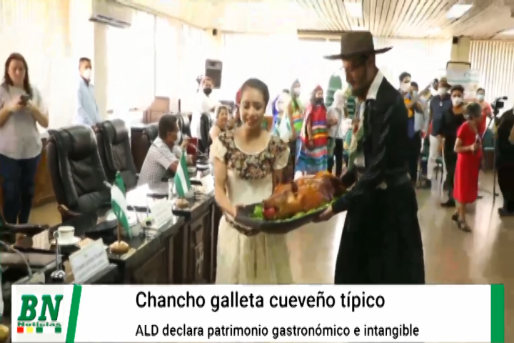 Lee más sobre el artículo ALD sancionó Ley Departamental de Declaratoria de Patrimonio Cultural Gastronómico Intangible al Chancho Galleta Cueveño