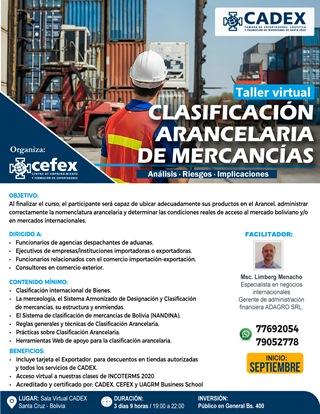 Lee más sobre el artículo Capacitación técnica en Nomenclatura Arancelaria, para empresas COMEX