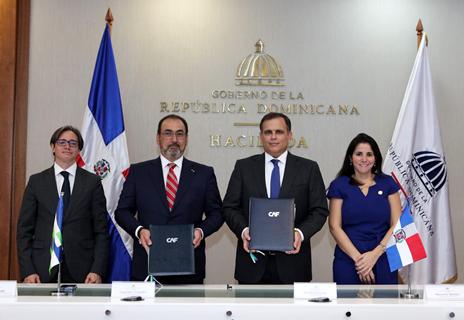 Lee más sobre el artículo República Dominicana firma convenio para ser miembro pleno de CAF