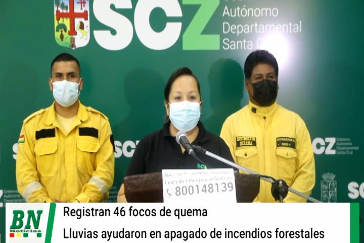 Lee más sobre el artículo La lluvia ayuda a bajar considerablemente los incendios forestales en Santa Cruz