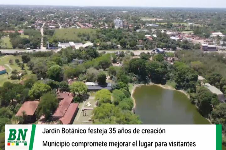 Lee más sobre el artículo Gobierno Municipal celebra 35 años del Jardín Botánico y anuncia proyectos para fortalecer este espacio natural