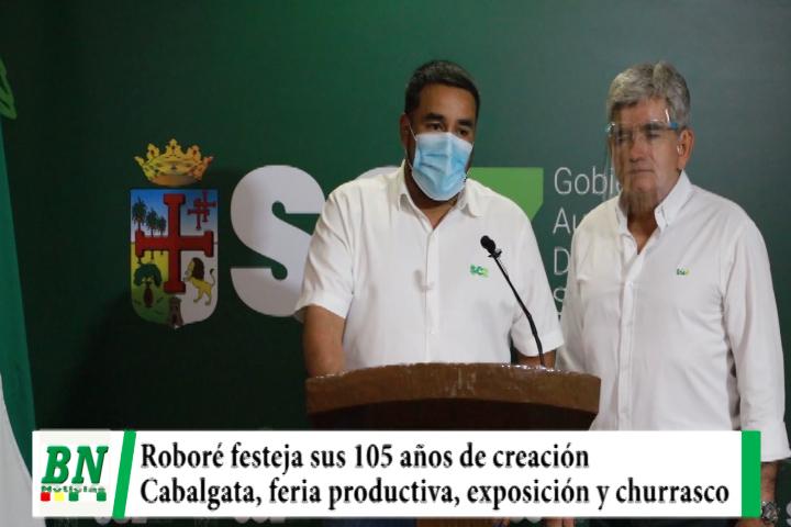 Lee más sobre el artículo Roboré invita a su Feria Productiva, Feria Exposición, Festival del Churrasco y Cabalgata