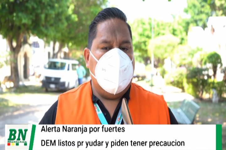 Lee más sobre el artículo Alerta naranja por fuertes vientos y el DEM se alista para ayudar mientras pide tener precaución
