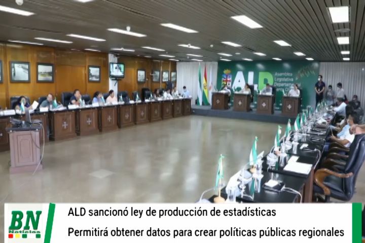 Lee más sobre el artículo ALD sancionó la Ley Departamental de Producción de Estadísticas, coadyuvará a toma de decisiones políticas y elaboración de políticas públicas