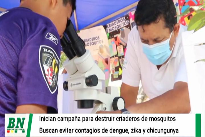Lee más sobre el artículo Gobernación inicia campaña de educación para destrucción de criaderos de mosquitos que transmiten dengue, zika y chikungunya