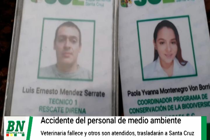 Lee más sobre el artículo Veterinaria de la Gobernación fallece en accidente vial mientras se dirigía a rescatar animales de los incendios