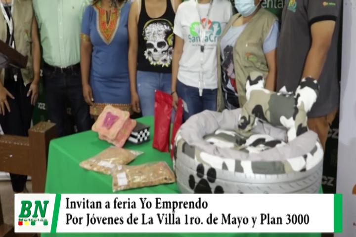 Lee más sobre el artículo Jóvenes de la Villa 1ro de Mayo y el Plan 3.000 invitan a la feria Yo emprendo