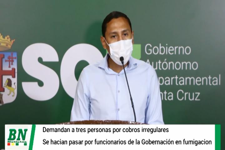Lee más sobre el artículo Tres personas demandadas por hacerse pasar por funcionarios de la Gobernación y cobrar por servicio de fumigación
